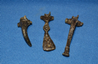 A very cheap group of 3 assorted Roman bronze Fibula Brooches from North Yorkshire (Group 1) SOLD